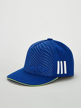 adidas-youth-messi-cap-blue