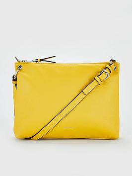 karen-millen-mini-shoulder-bag-yellow