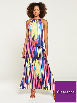 v-by-very-halter-sleeveless-jersey-maxi-dress-stripe