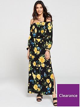 v-by-very-petite-bardot-maxi-dress-floral-print
