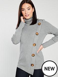wallis-statement-button-jumper