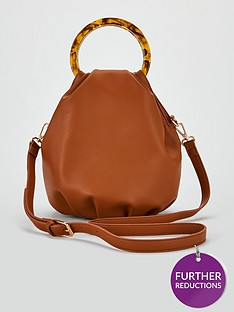 v-by-very-pia-gathered-bucket-bag-with-enamel-handle-tan