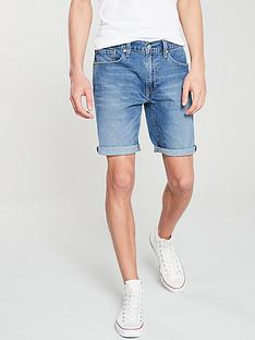 levis-501-hemmed-short-blue