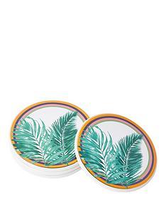 river-island-leaf-print-coaster-set-4