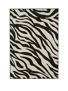 zebra-print-rug