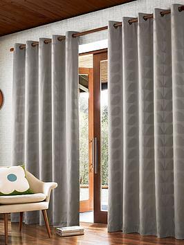 orla-kiely-jacquard-stem-eyelet-curtains