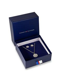 tommy-hilfiger-tommy-hilfiger-silver-crystal-set-pendant-and-stud-earring-with-logod-edge-gift-set