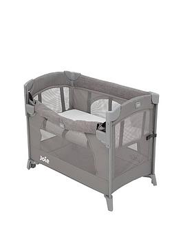 Joie Joie Kubbie Sleep Travel Cot - Foggy Grey Picture