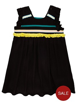 mini-v-by-very-girls-crinkle-tape-dress-with-trims-black