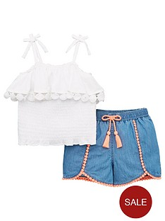 mini-v-by-very-girls-shirred-top-amp-shorts-outfit-multi