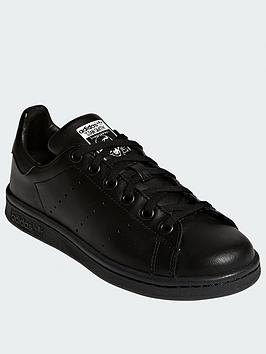 adidas Originals Adidas Originals Stan Smith Junior Trainers - Black Picture