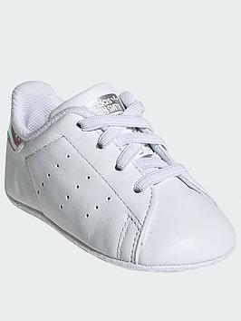 adidas Originals Adidas Originals Stan Smith Toddler Trainers - White  ... Picture