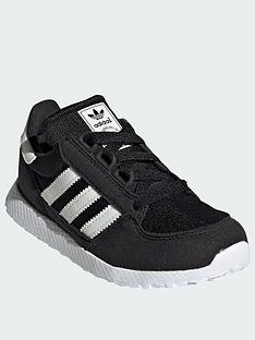 adidas-originals-forest-grove-childrensnbsptrainers-blackwhite