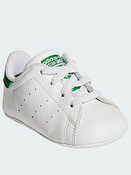 adidas Originals Adidas Originals Stan Smith Toddler Trainers - White/Green Picture