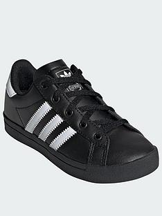 adidas-originals-coast-star-childrensnbsptrainers-blackwhite