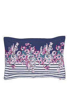 Joules Joules Cottage Garden Border Stripe 100% Cotton Oxford Pillowcase Picture