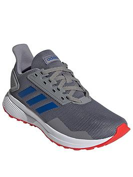 adidas-childrens-duramo-9-trainers-greybluewhite
