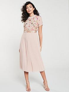 frock-and-frill-frock-and-frill-embellished-bodice-midi-dress-with-pleat-skirt