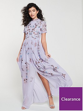 frock-and-frill-high-neck-floral-embroidered-maxi-dress-lilac