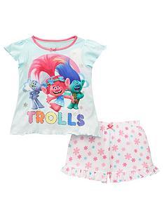 dreamworks-trolls-girls-poppy-short-pyjamas-multi