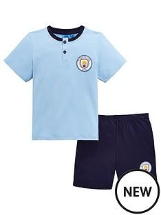 character-manchester-city-boys-shorty-pjsnbsp--blue