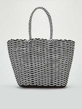 v-by-very-jacey-monochrome-plastic-tote-black-white