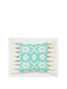 River Island River Island Geo Embroidered Cushion Picture