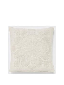 river-island-medallion-embroidery-cushion
