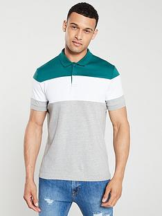 v-by-very-block-stripe-polo-shirt-greygreenwhite