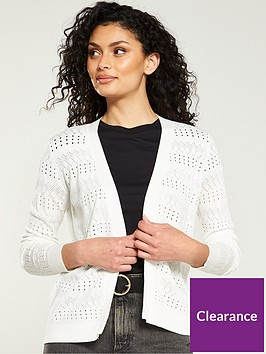 v-by-very-pointelle-stripe-edge-to-edge-cardigan-ivory