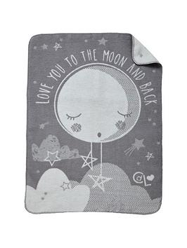 Clair De Lune Clair De Lune Clair De Lune Over The Moon Fleece Blanket Picture