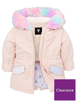 v-by-very-girls-multi-faux-fur-pink-parka-coat-pink