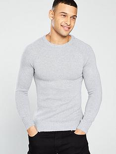 river-island-soft-touch-crew-neck-jumper