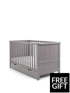 obaby-obaby-belton-cot-bed-taupe-grey