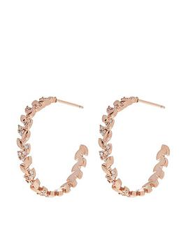 accessorize-accessorize-rose-gold-plated-crystal-vine-hoops