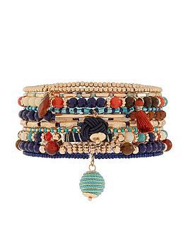 accessorize-x10-nomad-stretch-pack-bracelets-multi