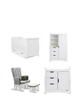 obaby-obaby-stamford-classic-sleigh-3-piece-nursery-furniture-set-amp-deluxe-glider-chair