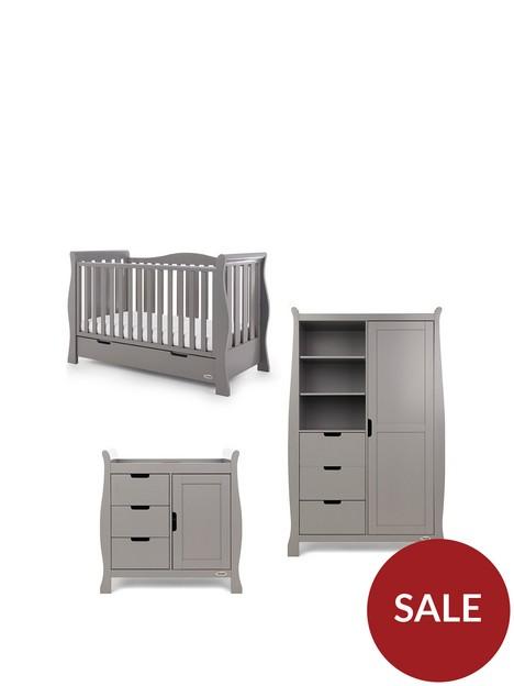 obaby-stamford-luxenbspsleigh-3-piece-nursery-furniture-set