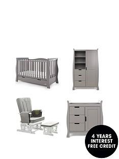 obaby-obaby-stamford-luxenbspsleigh-3-piece-nursery-furniturenbspset-amp-deluxe-glider-chair