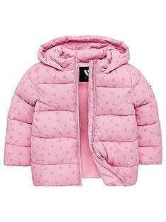 mini-v-by-very-girls-heart-print-padded-hooded-coat-pink