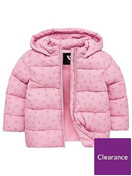 mini-v-by-very-girls-heart-print-padded-hooded-coat-pink