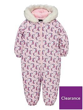 v-by-very-girls-fleece-lined-unicorn-snowsuit-pink