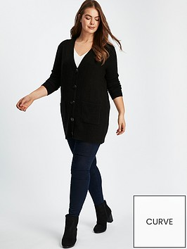 evans-horn-button-cardigan-black