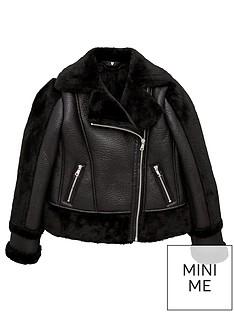 v-by-very-girls-pu-shearling-sleeve-aviator-jacket-black