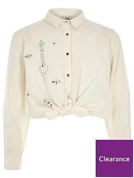 river-island-girls-diamante-tie-front-shirt-white