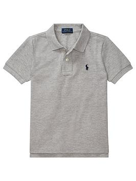 Ralph Lauren Ralph Lauren Boys Classic Short Sleeve Polo Shirt - Grey Picture