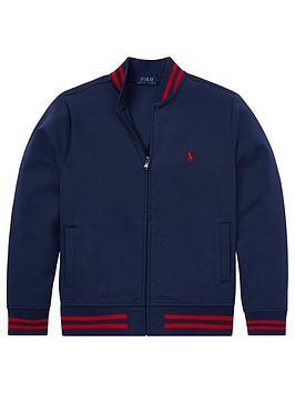 ralph-lauren-boys-cuffed-tech-zip-through-jacket-navy