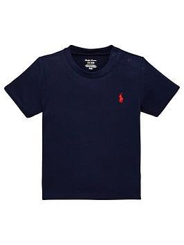 Ralph Lauren Ralph Lauren Baby Boys Classic Short Sleeve T-Shirt - Navy Picture