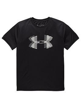 under-armour-boys-tech-big-logo-solid-t-shirt-black