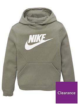 nike-boys-sportswearnbspclub-fleece-hoodienbsp-nbspkhaki